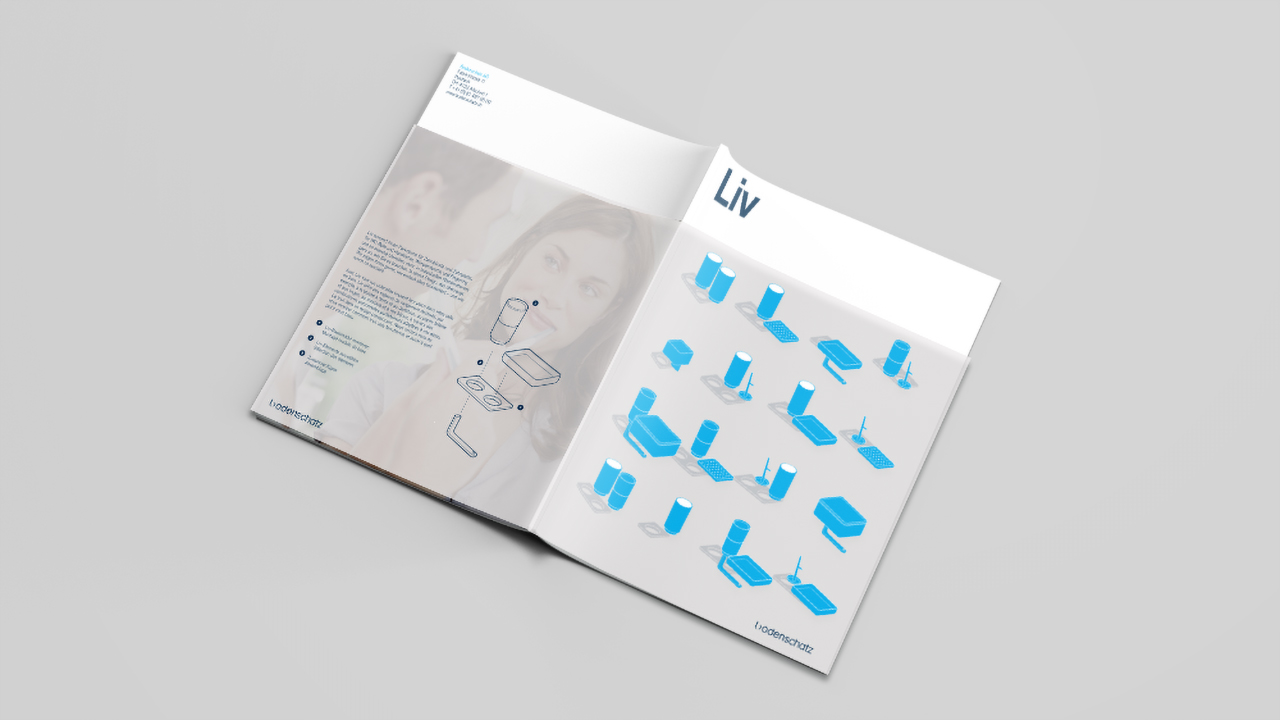 Brochure cover of Bodenschat Liv