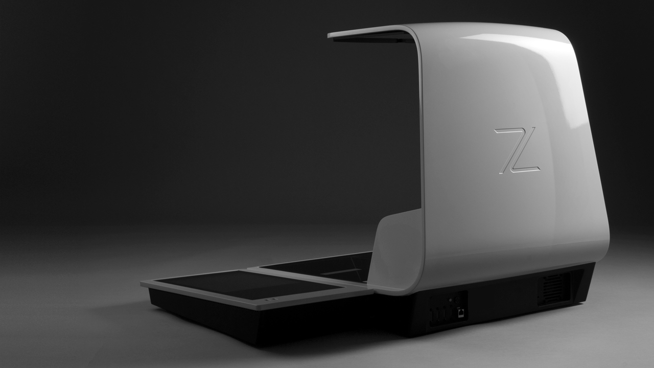 Zeutschel book scanner render